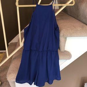 Purple/blue mini dress